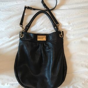 Marc by Marc Jacobs Brown Leather Hobo Bag